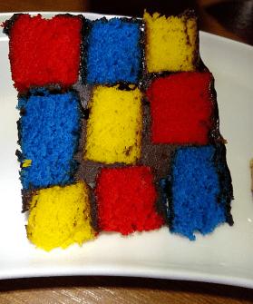 CHECKED CAKE