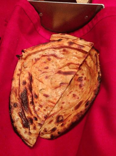 Red Chilli Paratha