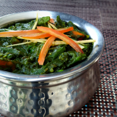 Mixed Veg with Palak
