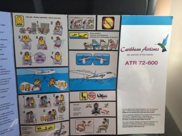 Safety Card ATR72-600