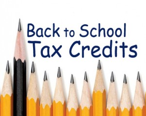 Back to School Tax Credit