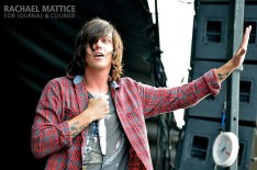 Sleeping with Sirens took the stage with several other bands during Vans Warped Tour at Klipsch Music Center in Noblesville, Ind. on Wednesday, July 3, 2013. (Photo by Rachael Mattice/Journal & Courier)