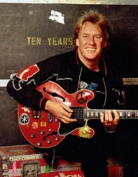 AP photo March 6: Alvin Lee, founder of the band Ten Years After