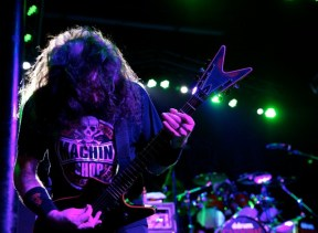 Cannibal Corpse performs at The Observatory in Orange County, Calif. on Saturday, February 7th, 2015. (Photo by Rachael Mattice/OC Weekly, Metal Insider)