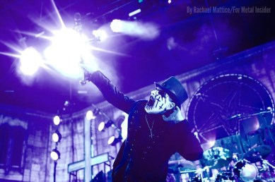 King Diamond performs on the main stage during Rockstar Energy Drink's Mayhem Festival at San Manuel Amphitheater in San Bernardino, Calif. Photo taken on Saturday, June 27, 2015. Photo by Rachael Mattice/For Metal Insider