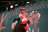 Hellyeah performs on the main stage during Rockstar Energy Drink's Mayhem Festival at San Manuel Amphitheater in San Bernardino, Calif. Photo taken on Saturday, June 27, 2015. Photo by Rachael Mattice/For Metal Insider