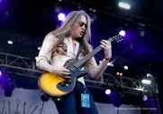 """""""Carcass guitarist Bill Steer performs at Chicago Open Air music festival on Saturday, July 15, 2016 at Toyota Park in Bridgeview, Ill. Photo by Rachael Mattice/For Metal Insider."""""""