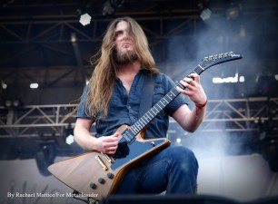 """""""Carcass guitarist Ben Ash performs at Chicago Open Air music festival on Saturday, July 15, 2016 at Toyota Park in Bridgeview, Ill. Photo by Rachael Mattice/For Metal Insider."""""""