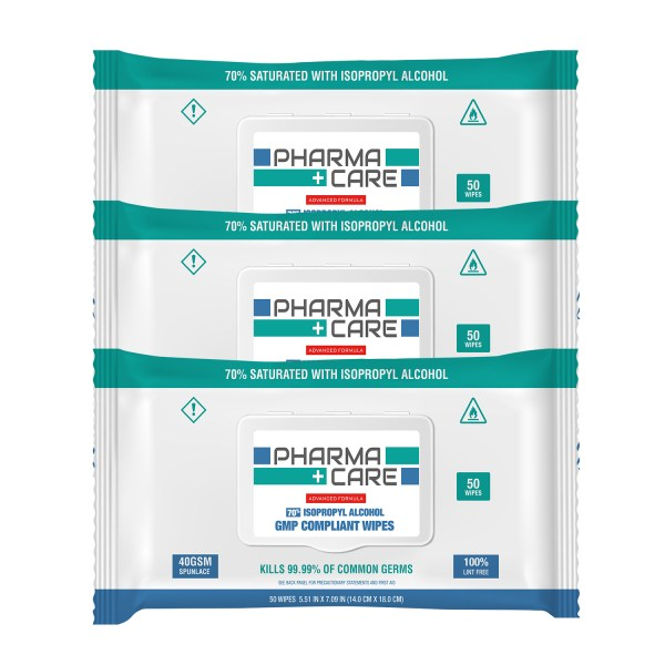 Pharmacare-70-Alcohol-Wipes-50-pack-x3
