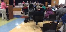 Wayne High School parents take concerns about racial tensions to school board