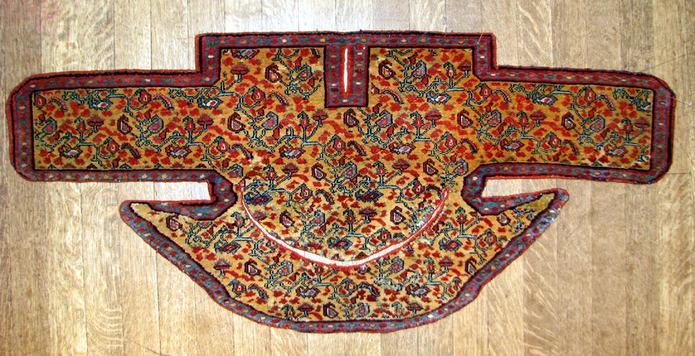 016 Bastard NWP saddle rug