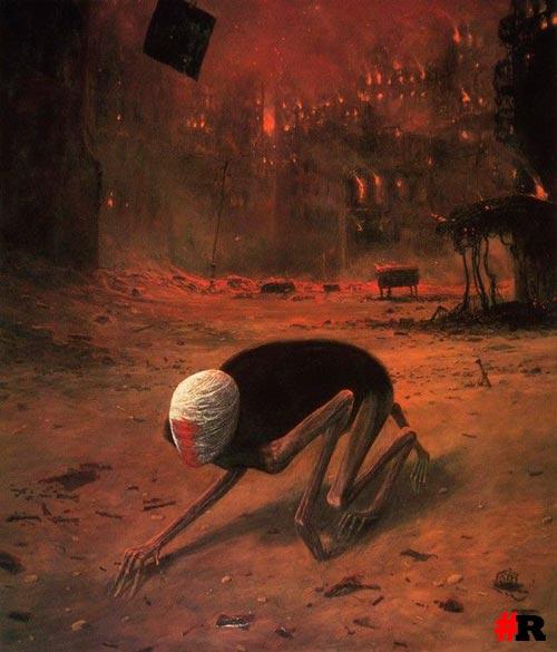 виденье ада бексиньский