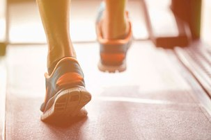 Занятий спортом, бег
