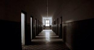 мрачный Коридор больницы