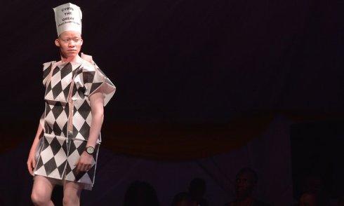 Конкурс красоты среди альбиносов