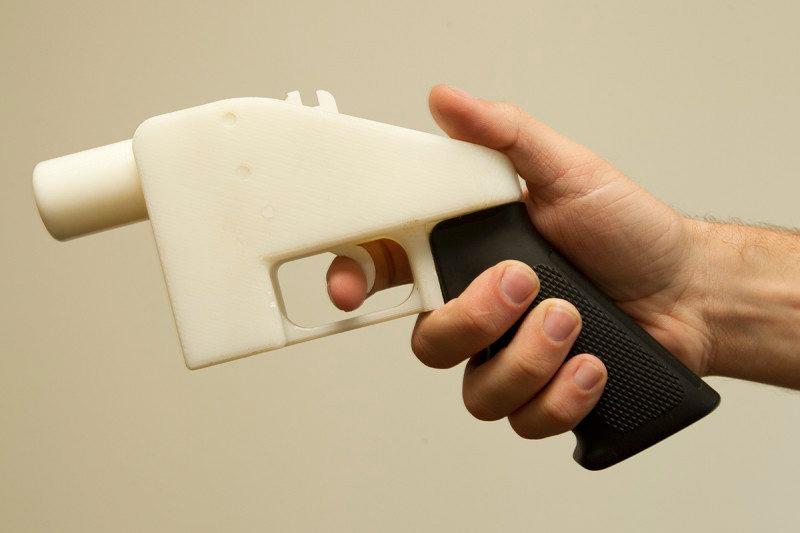 3D печать оружие
