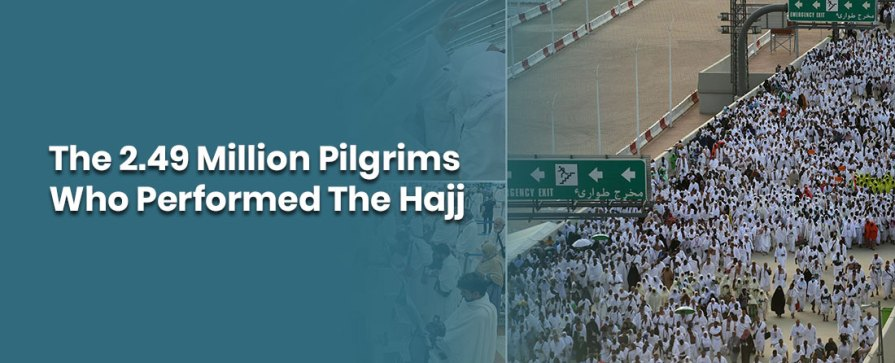 How Many Muslims Took Park In Hajj In 2019