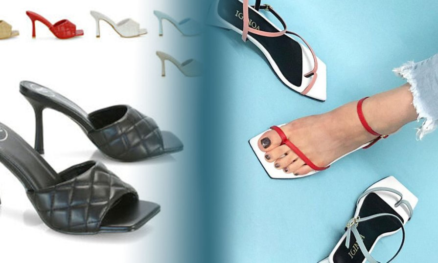 Square Sandals Product Image