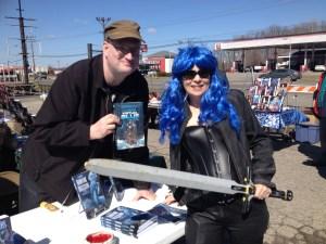 "With ""Virtual Blue"" Nikki Howard!"