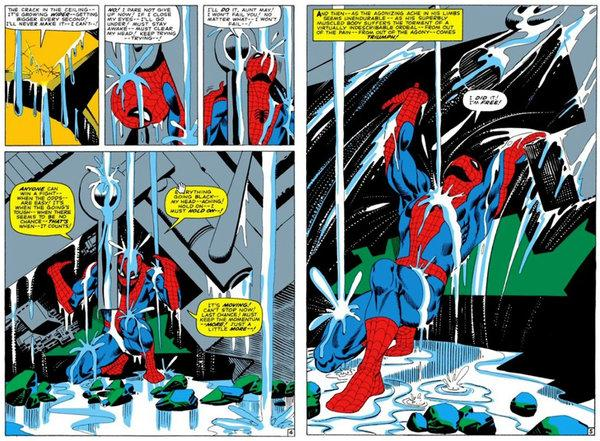 Stan Lee and Steve Dikto's work
