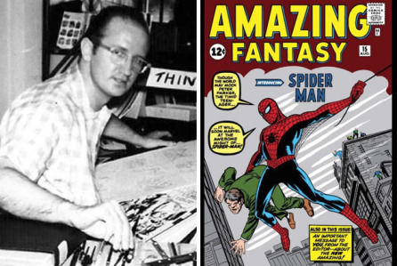 Steve Dikto, co-created Spider-Man with Stan Lee