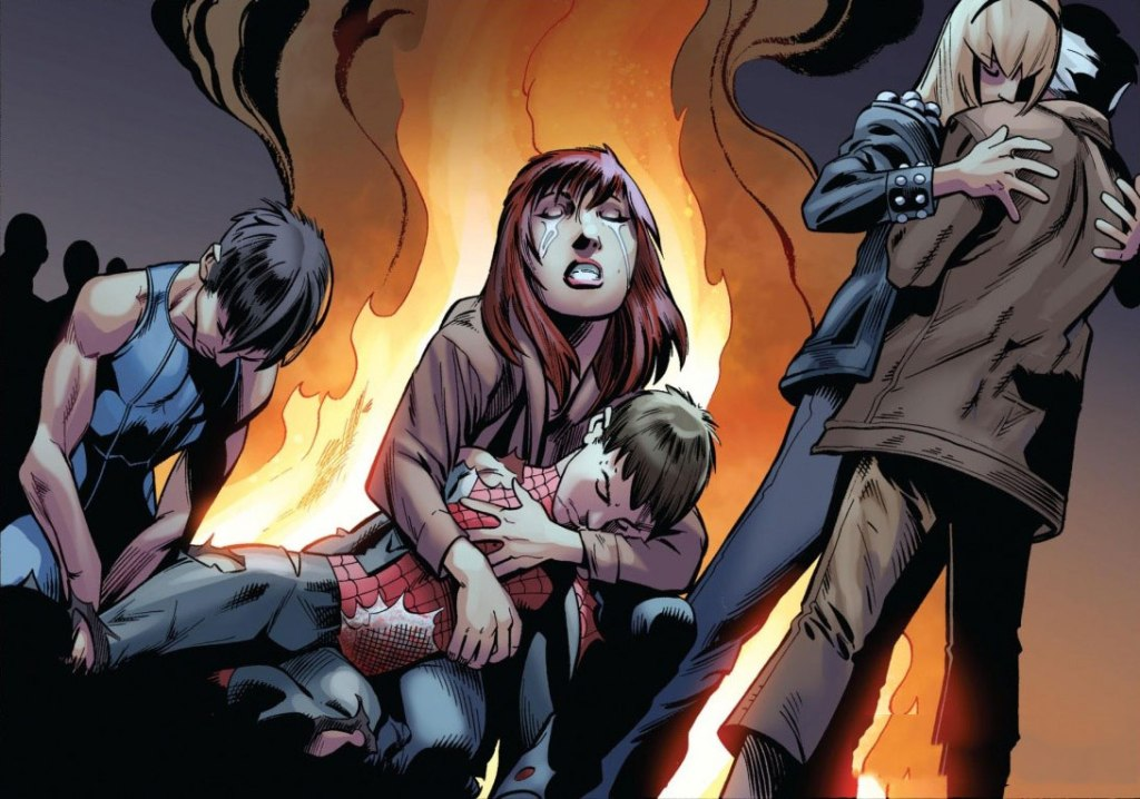 The Death of The Ultimate Spider-Man