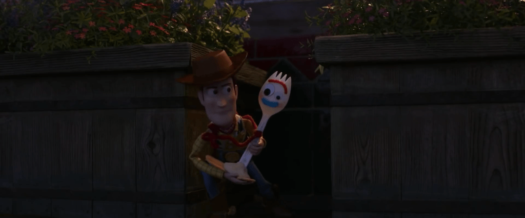 Toy Story 4 heroes Woody and Forky
