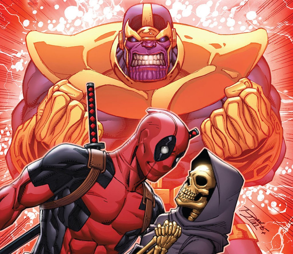 Deadpool and Thanos fight over the Marvel version of Death