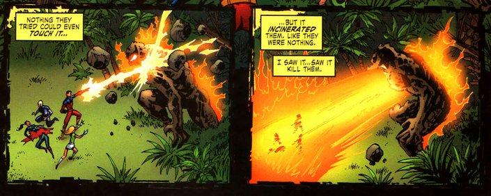 The other X-Men team gets massacred.