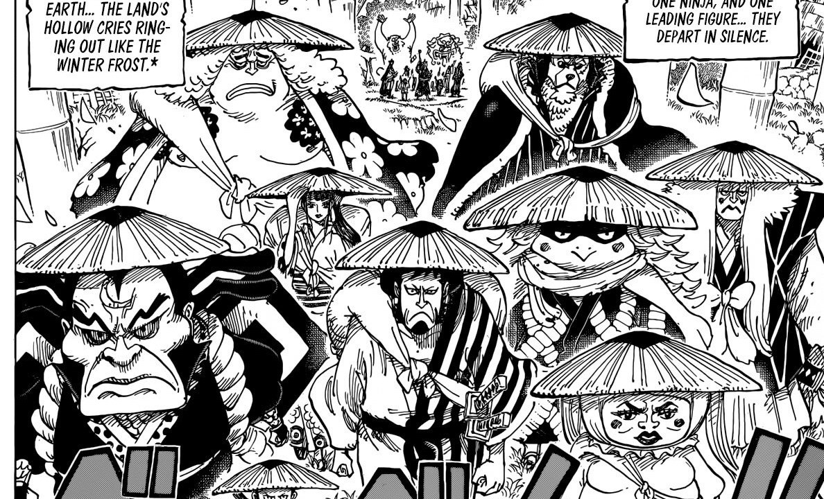 One Piece Scabbards Move Out