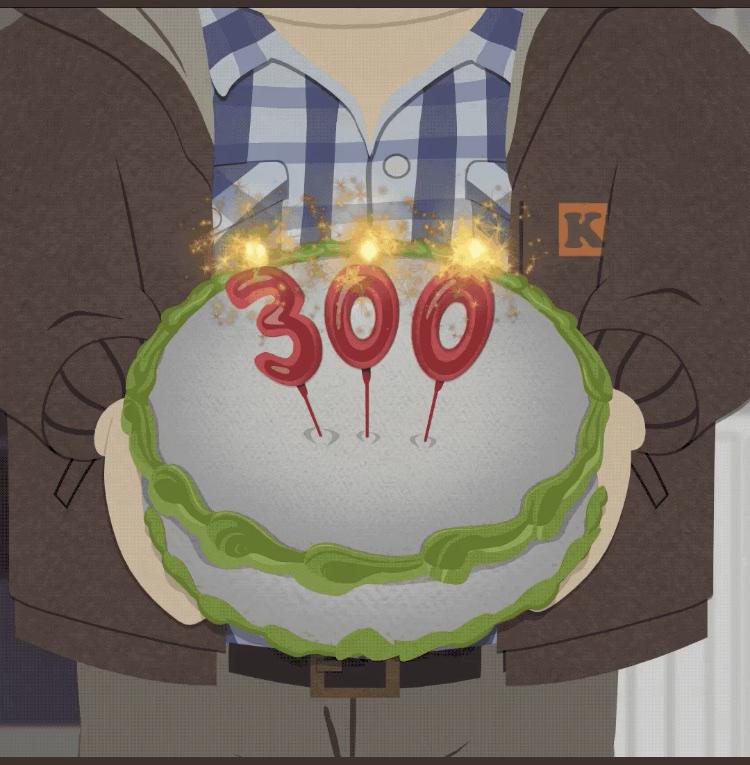 South Park 300 Shots!