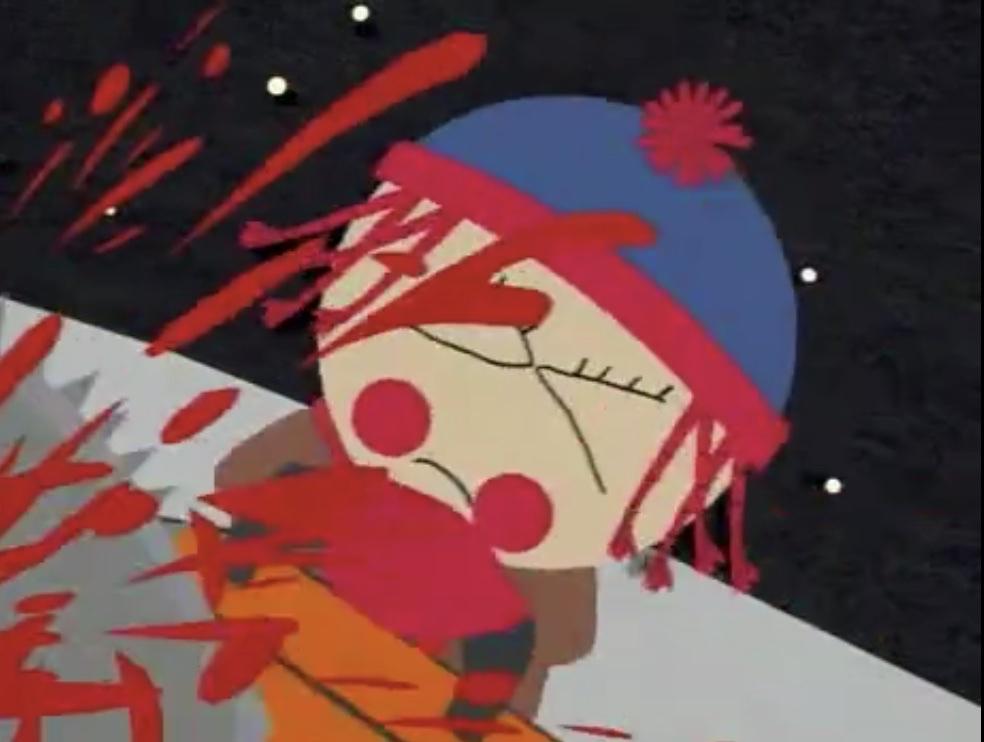 Zombie film Pinkeye, South Park Style