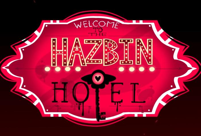 Hazbin Hotel Title