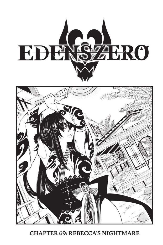Edens Zero Chapter 69 Cover