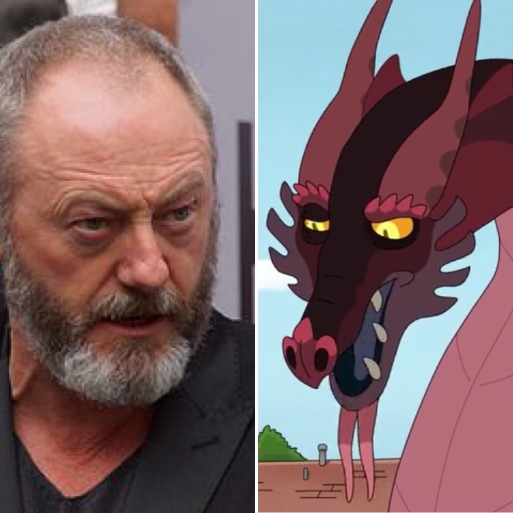 Liam Cunningham is a dragon
