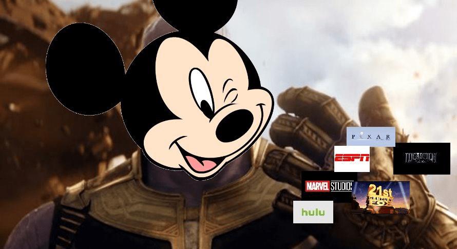 Disney Dominates Pop Culture