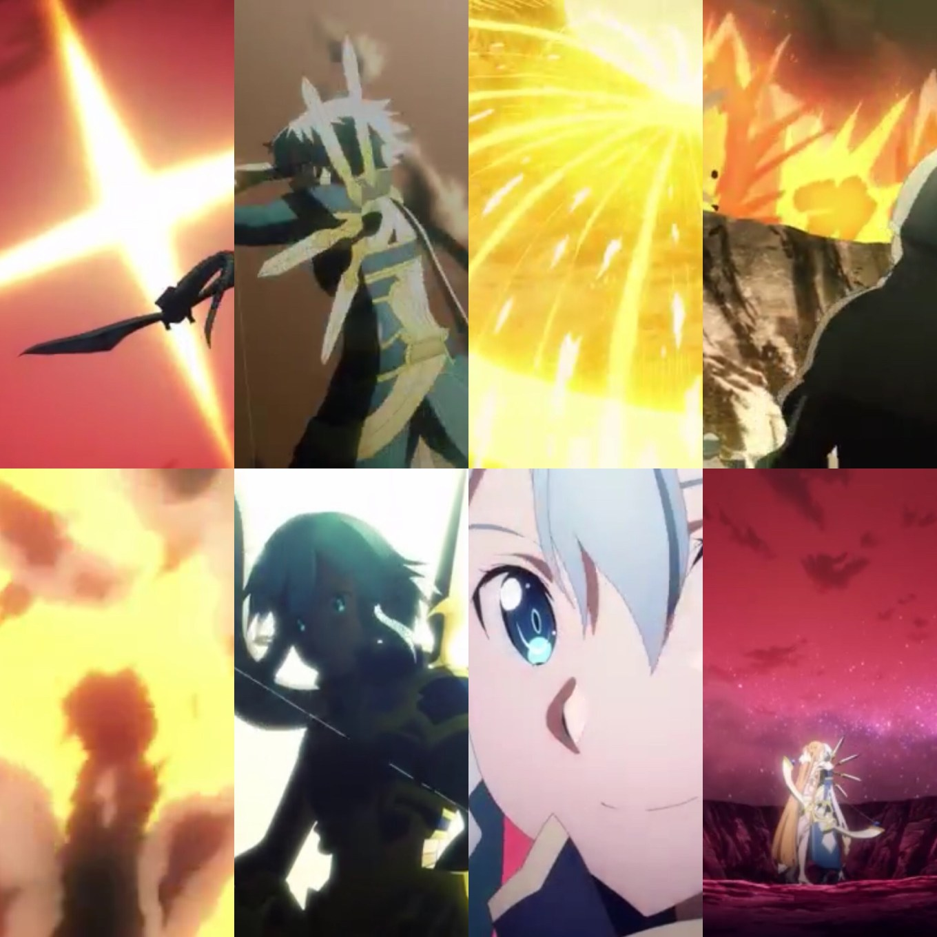 Sinon makes her entrance as the mid-season finale ends