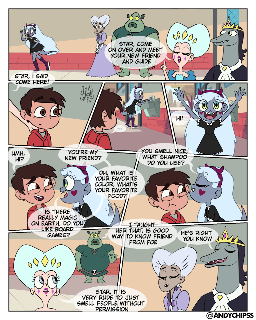 Star the Monster Princess first Meets Marco, Star vs. Fanfic