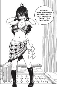 Edens Zero Chapter 77 Homura Swimsuit