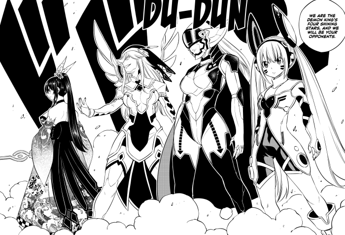 Edens Zero Chapter 87 Four Shining Stars United