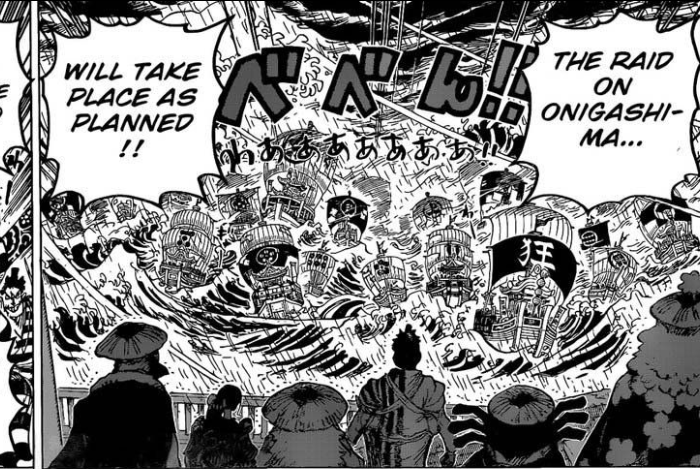 One Piece Chapter 975 The-War-to-Liberate-Wano-Begins