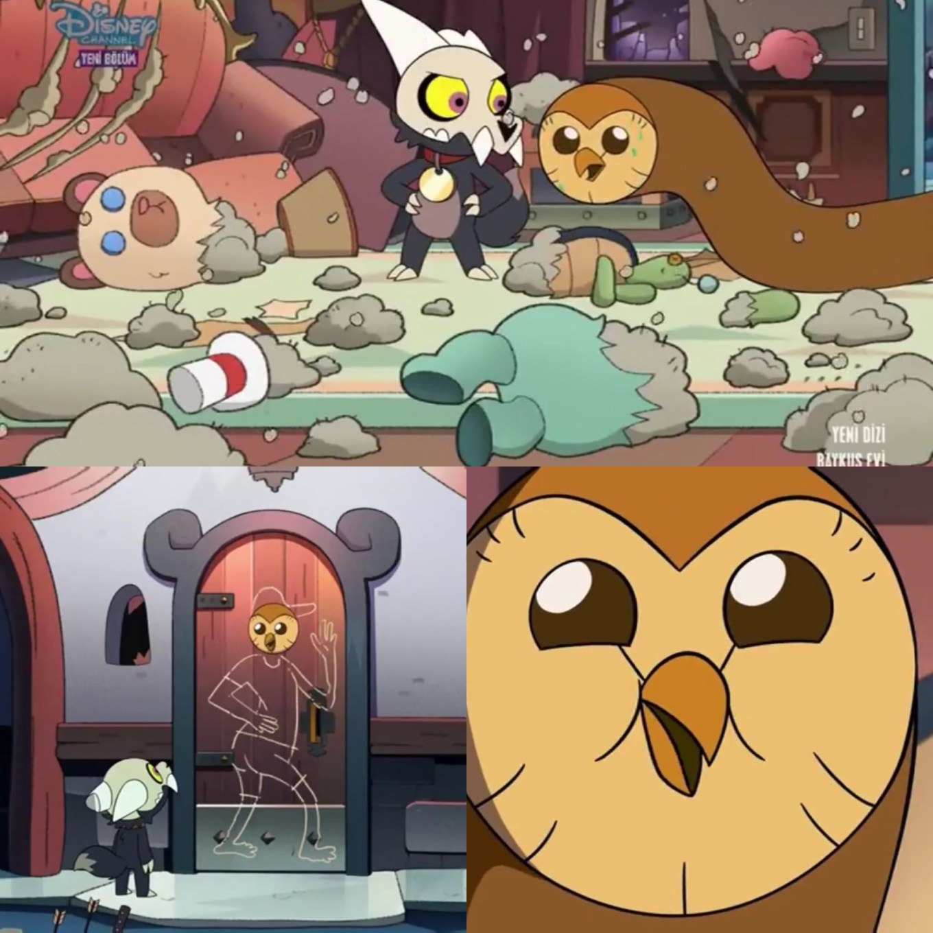 "The Owl House Episode 11 ""Adventure in the Elements"" Hooty the Soldier"