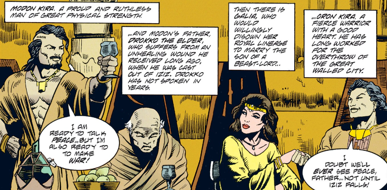 Star Wars Tales of the Jedi Binding Ceremony of Galia and Oron Kira