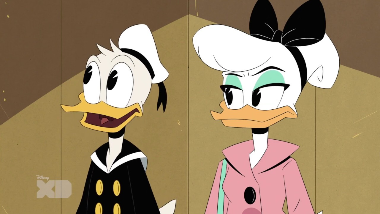"Daisy and Donald Duck in ""Louie's Eleven!"" DuckTales! Season 3, Episode 5"