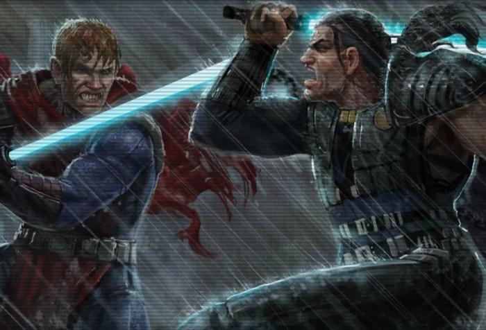 Star Wars Exar Kun vs. Ulic Qel-Droma