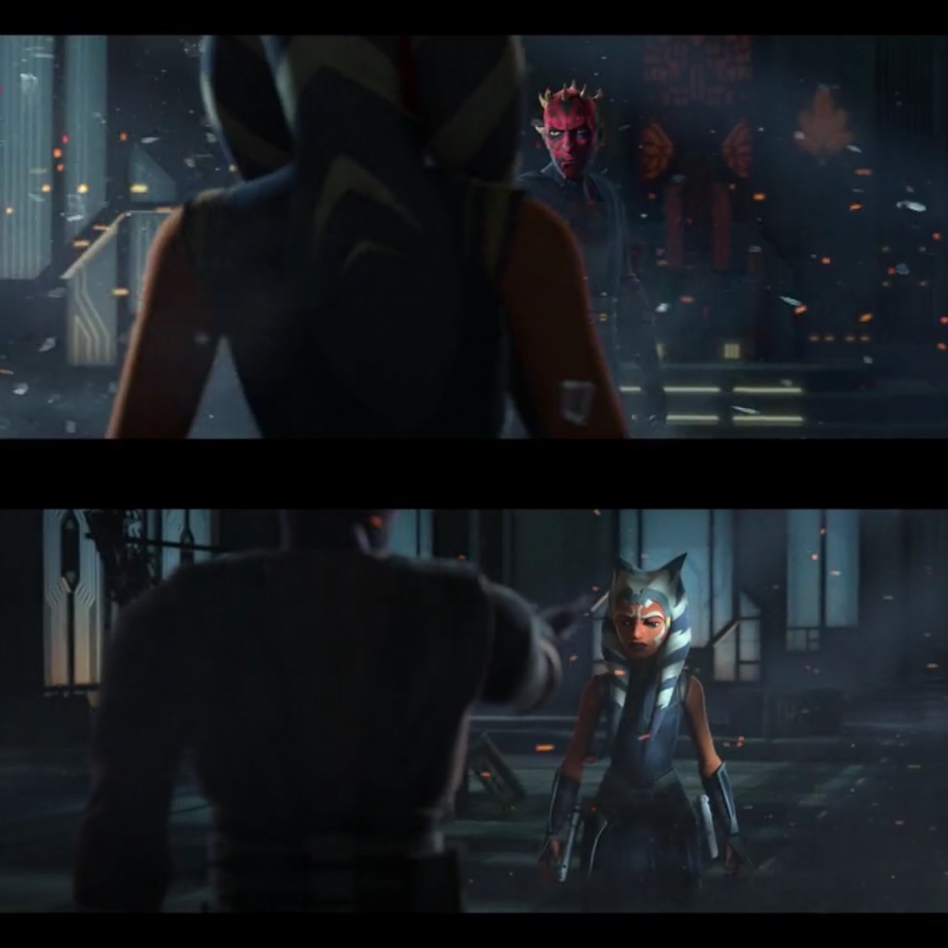 The New Duel of the Fates in The Phantom Apprentice Star Wars: The Clone Wars Season 7, Episode 10
