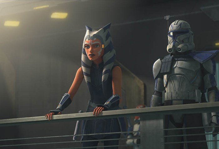 "Star Wars The Clone Wars Season 7, Episode 9 ""Old Friends Not Forgotten""- Ashoka and Rex Face their final battle of the war"