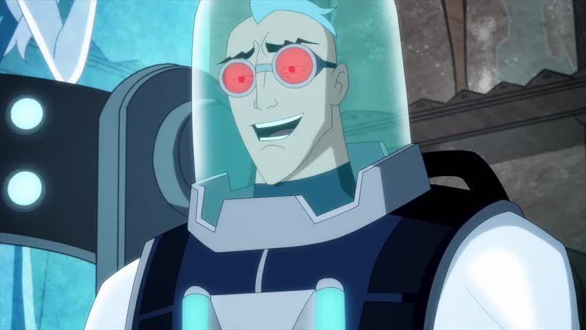 Mr. Freeze, Cold on the outside, but a softie on the inside