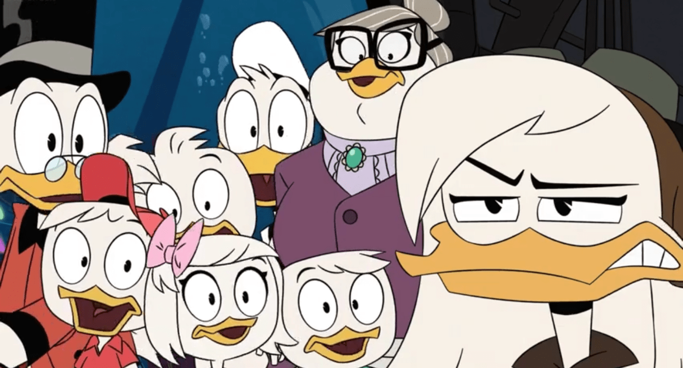 "Della hates fish Ducktales Season 3 Episode 4 ""Lost Harp of Mervana"""