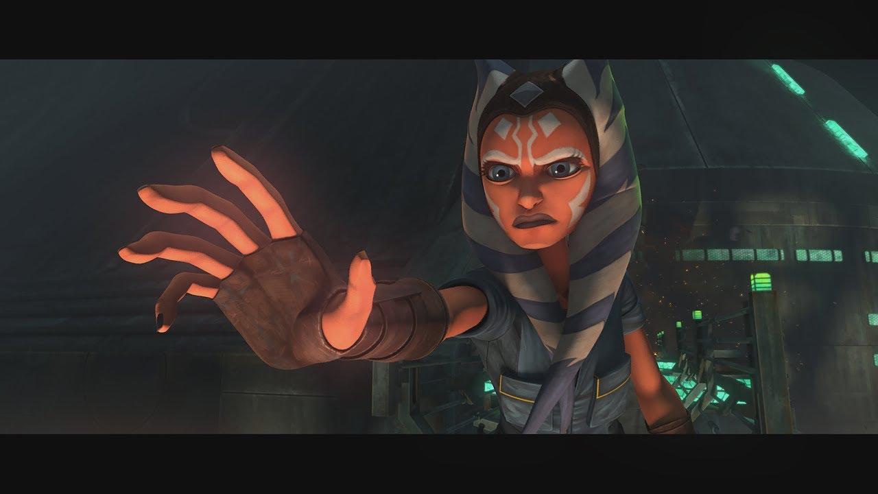 "Ashoka Tano in Star Wars: The Clone Wars ""Dangerous Debt"""